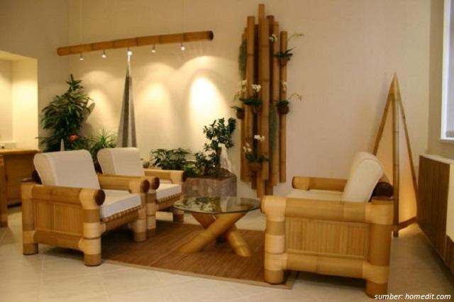10 Inspirasi Dekorasi dari Anyaman Bambu