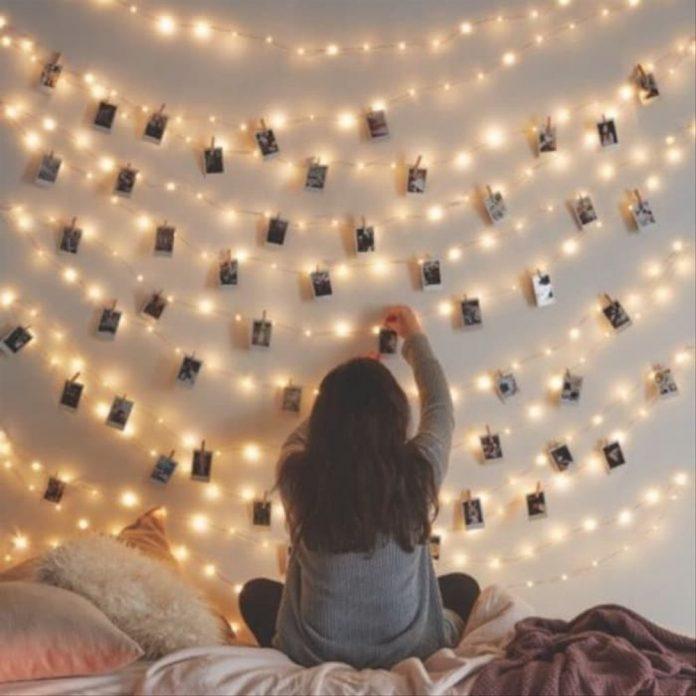 Dekorasi kamar Dengan Lampu Led