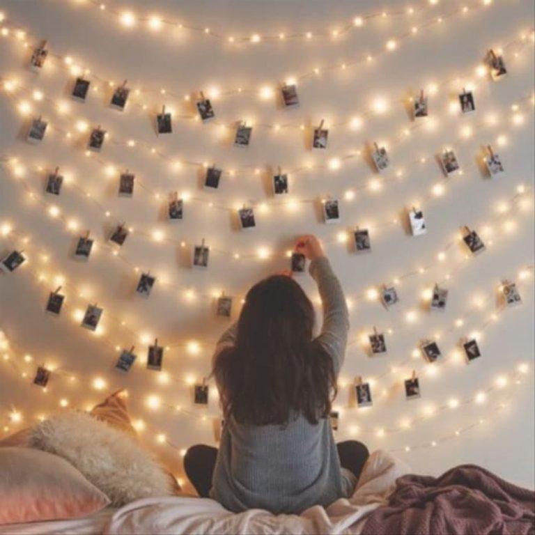 Dekorasi Kamar Dengan Lampu Led Bikin tempat Tidur Jadi Anggun