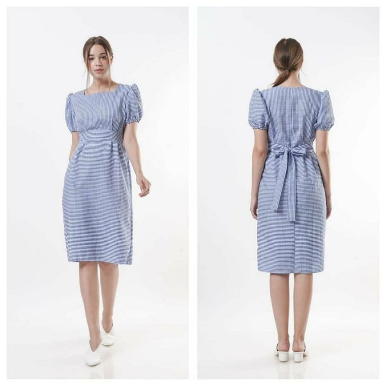 Model Baju Vintage, Busana Santai dan Baju Kerja Wanita Dari Katun