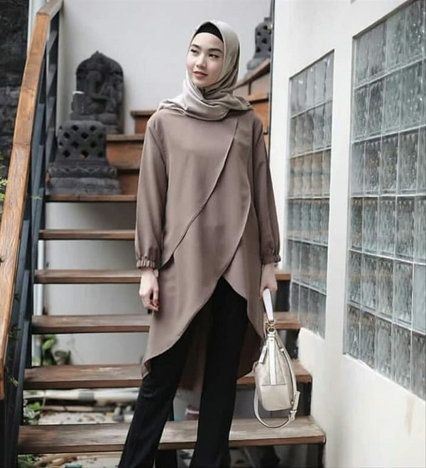 Baju Kerja Wanita Muslimah Modis Casual Untuk Anda