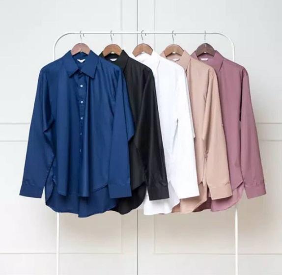 Desain Cantik dan Modern Model Baju Atasan Wanita Lengan Panjang